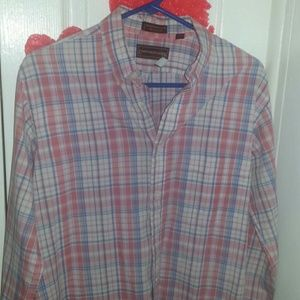 Neck 16. 34-35 polo lauren button up mens like new